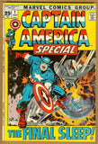Captain America Special #2 VG/F