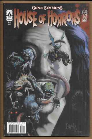 Gene Simmons House of Horrors #1 NM+