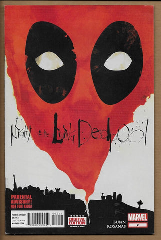 Night of the Living Deadpool #2 NM-