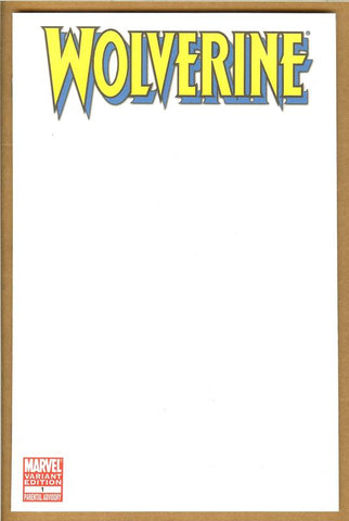 Wolverine #1 Blank Cover NM/NM+