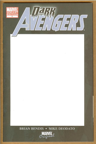 Dark Avengers #1 Blank Cover NM/NM+