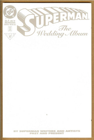 Superman The Wedding Album #1 NM+