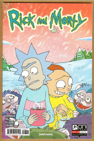 Rick and Morty #8 NM+