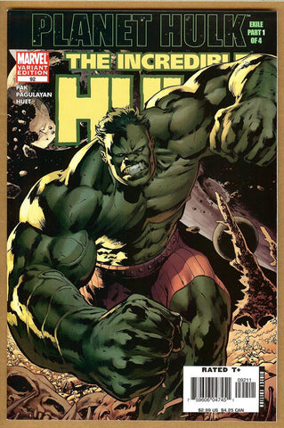 Incredible Hulk #92 2nd Print NM