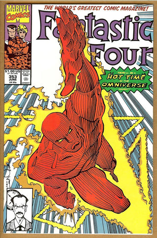 Fantastic Four #353 NM-