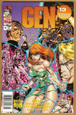 Gen 13 #1 VF+ Newsstand