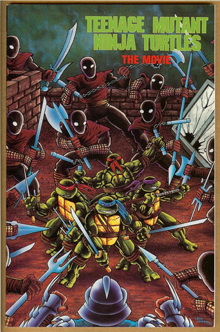 Teenage Mutant Ninja Turtles The Movie #1 NM-