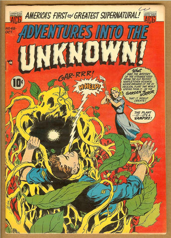 Adventures Into The Unknown #048 VF