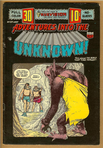 Adventures Into The Unknown #057 F-