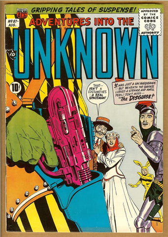 Adventures Into The Unknown #087 F/VF
