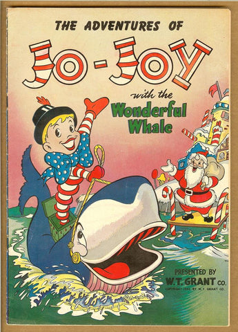 Adventures of Jo-Joy With the Wonderful Whale VG+