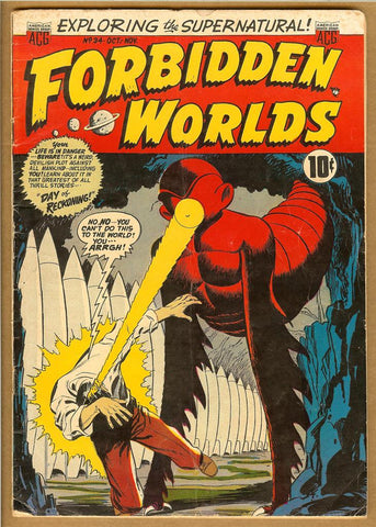 Forbidden Worlds #34 VG