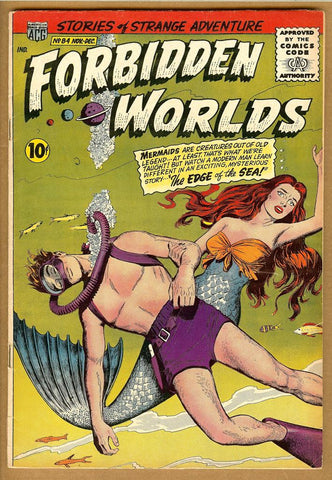 Forbidden Worlds #84 VG+