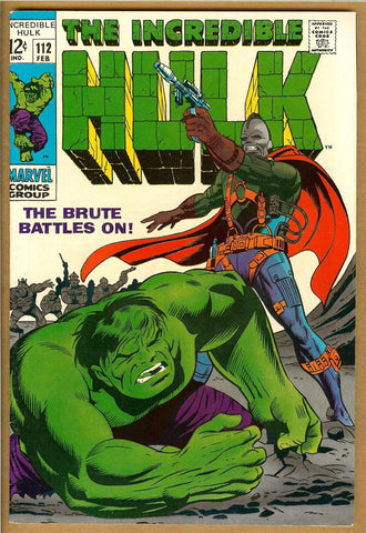 Incredible Hulk #112 VF+