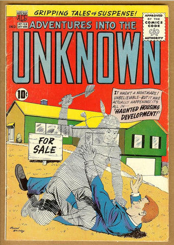 Adventures Into The Unknown #128 VG-