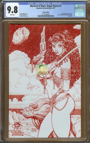 Warlord of Mars: Dejah Thoris #1 Limited Edtion CGC 9.8