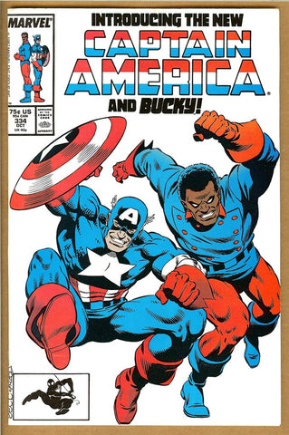 Captain America #334 VF/NM