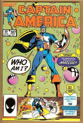Captain America #307 NM-
