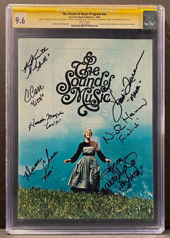 The Sound of Music Program #nn CGC 9.6