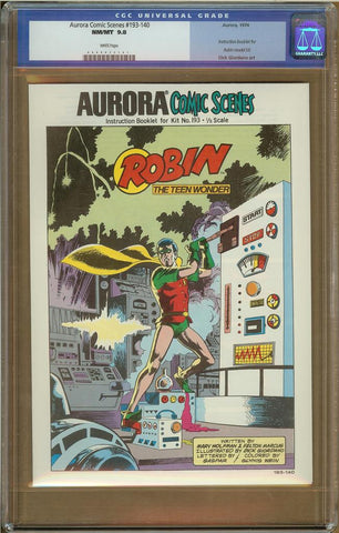 Aurora Comic Series #193-140 CGC 9.8
