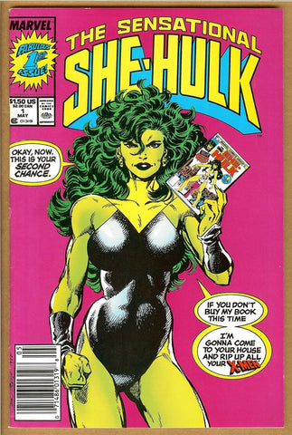 Sensational She-Hulk #1