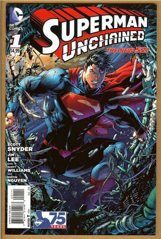 Superman Unchained #1 NM