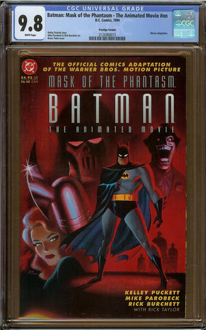 Batman: Mask of the Phantasm - The Animated Movie #nn CGC 9.8
