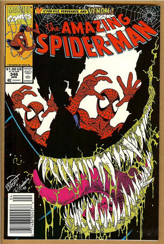 Amazing Spider-Man #346 VF+ Newsstand