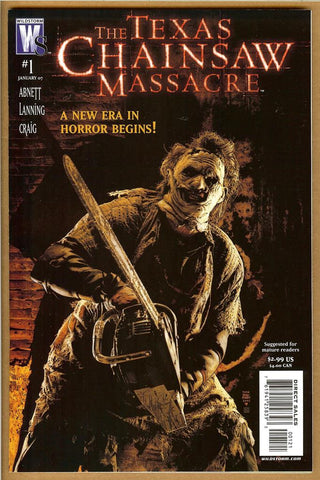 Texas Chainsaw Massacre #1 Variant NM