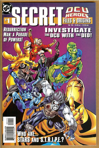 DCU Heroes Secret Files #1 NM-