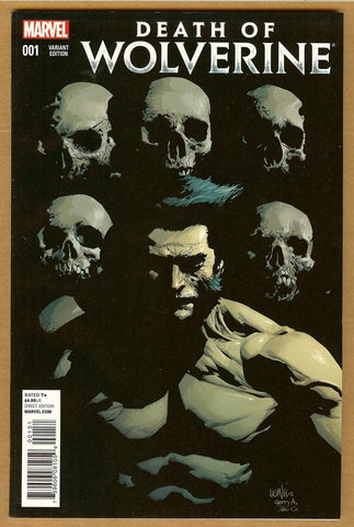 Death of Wolverine #1 Yu Variant NM-/NM