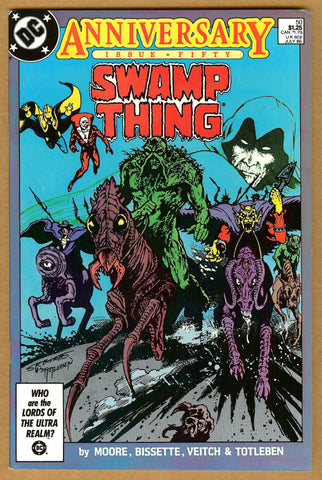 Swamp Thing #50 VF/NM