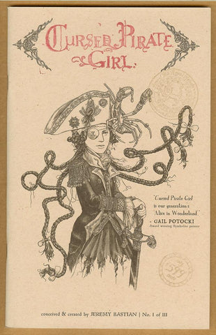 Cursed Pirate Girl #1 4th Printing NM+