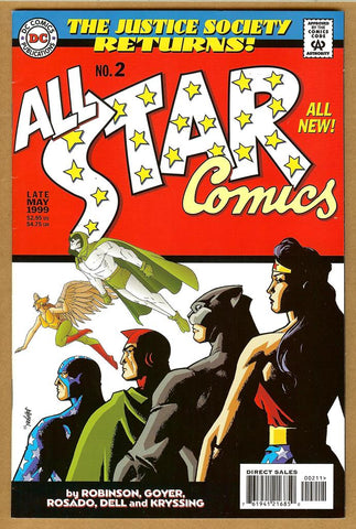 All Star Comics #2 F/VF