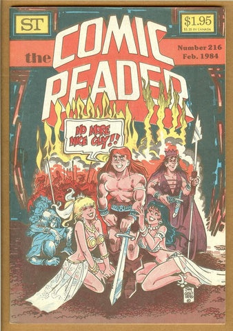 Comic Reader #216 VF