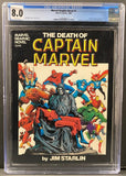 Marvel Graphic Novel #1 CGC 8.0