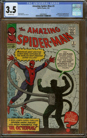 Amazing Spider-Man #3 CGC 3.5