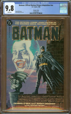 Batman: Official Motion Picture Adaptation #nn CGC 9.8