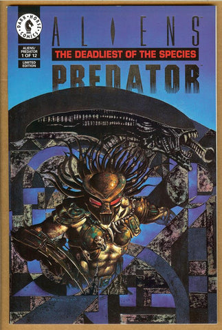 Aliens Predator: Deadliest of the Species #1 Platinum VF/NM