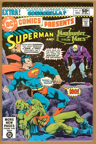 DC Comics Presents #27 VF+