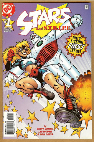 Stars and STRIPES #1 VF+