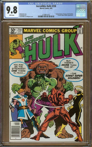 Incredible Hulk #258 CGC 9.8