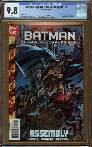 Batman: Legends of the Dark Knight #120 CGC 9.8
