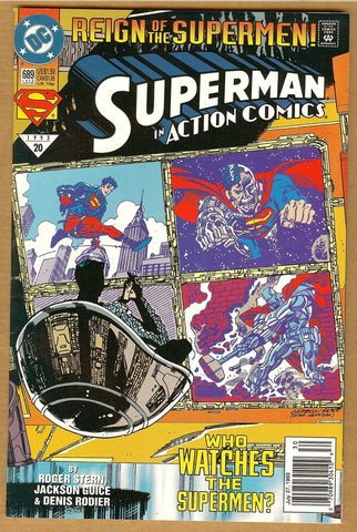 Action Comics #689 VF
