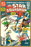 All Star Squadron #4 NM-