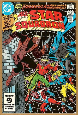 All Star Squadron #24 VF/NM