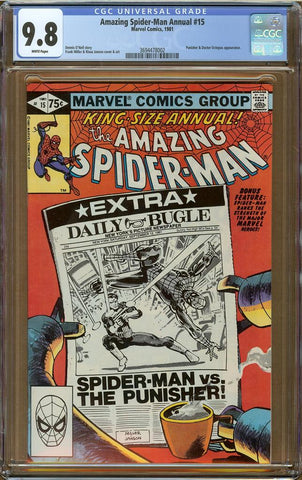 Amazing Spider-Man Annual #15 CGC 9.8