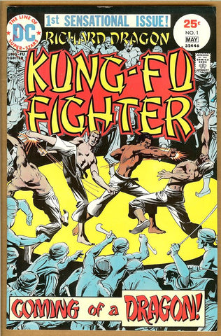 Richard Dragon, Kung-Fu Fighter #1 F/VF