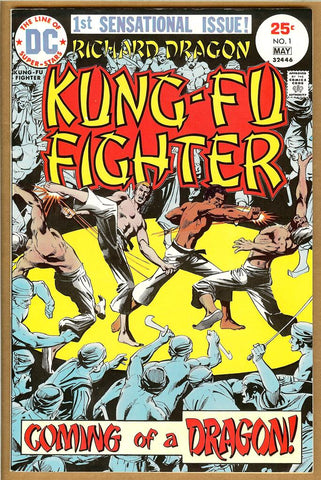 Richard Dragon, Kung-Fu Fighter #1 VF