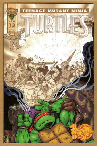 Teenage Mutant Ninja Turtles #13 VG/F Error Version